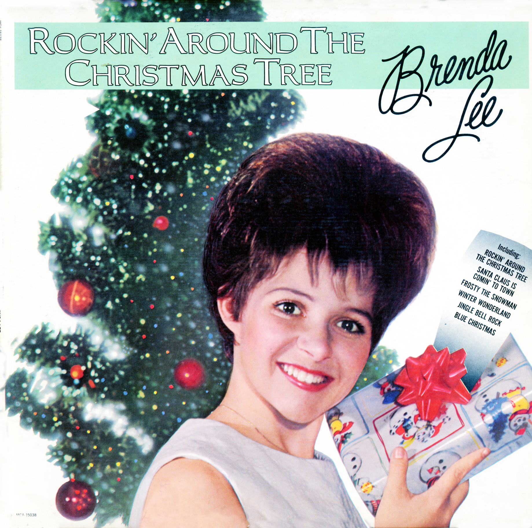 Brenda Lee Rockin Around The Christmas Tree Lyrics.Paroles Rockin Around The Christmas Tree Brenda Lee