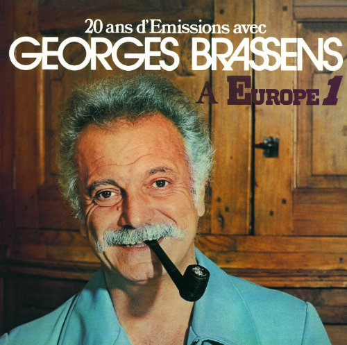 20 Ans d'Emissions Avec Georges Brassens à Europe 1
