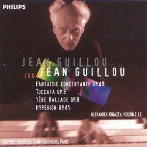 J. Guillou - Fantasie concertante, Op 49 - Toccata, Op 9 - 1ère ballade, Op 8 - Hyperion, Op 45