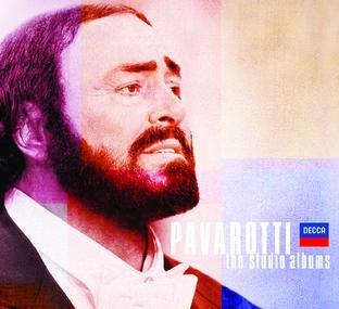 Pavarotti Studio Albums - Standard Slip Case
